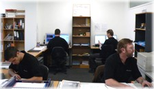 Protech Auckland Office sales and admin staff